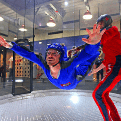 Valentine's day gift ideas for him Indoor Skydiving