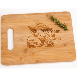 Valentine's day gift ideas for him Star Wars Cutting Board