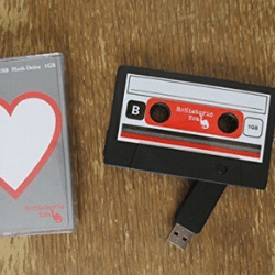 Valentine's day gift ideas for him USB Mixtape