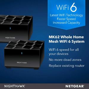 Best gadgets Netgear Nighthawk MK62 Mesh Wi-Fi 6 system
