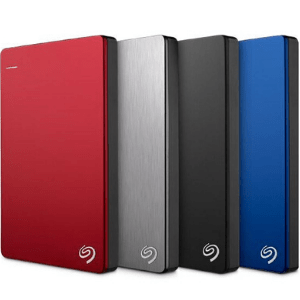 Accessories and gadgets Seagate Backup plus slim 1TB external hard drive