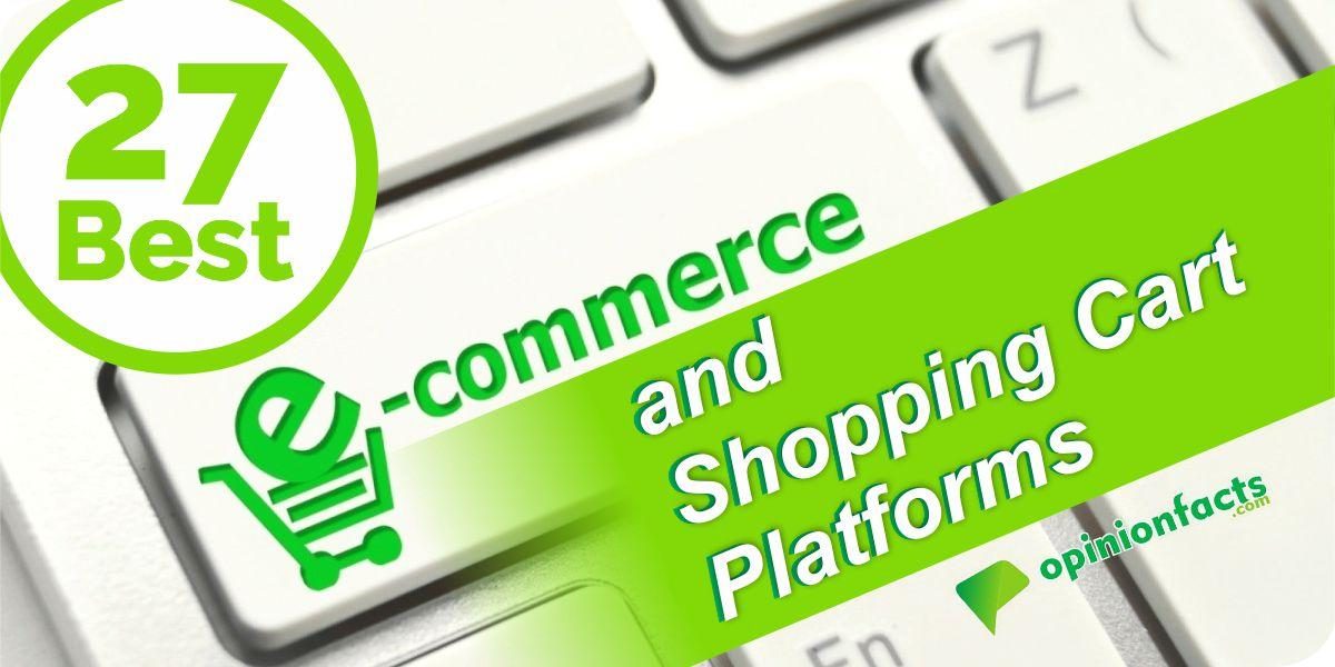 Best Ecommerce and Shopping cart platforms