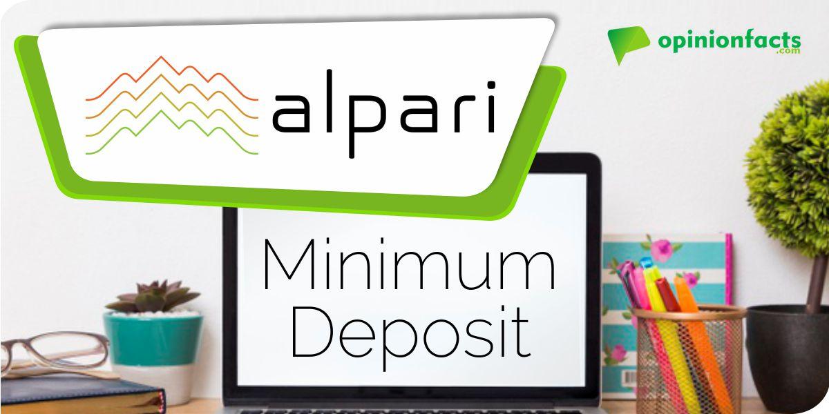 Alpari - Minimum Deposit
