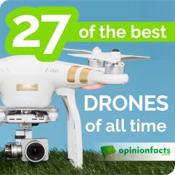 27 of The Best Drones of All Time