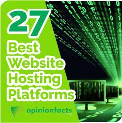 Best Website Hosting Platforms