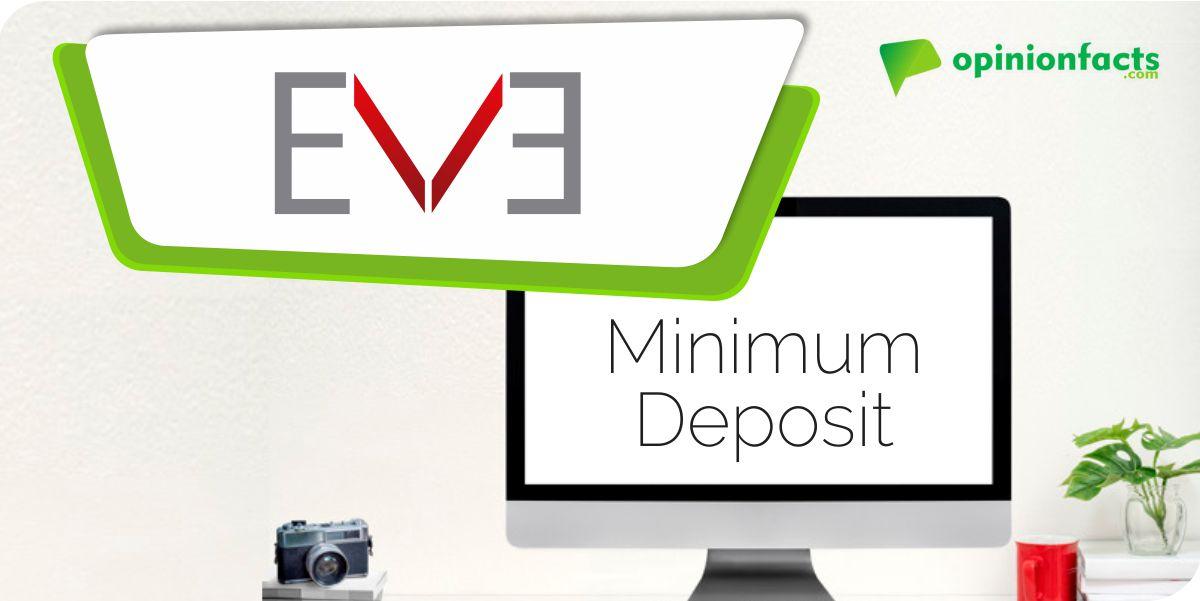 EVFX - Minimum Deposit
