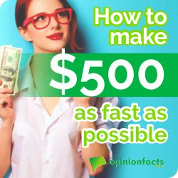 How to make $500 asap