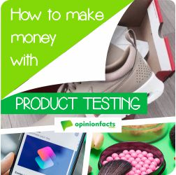 How to make money with Product testing