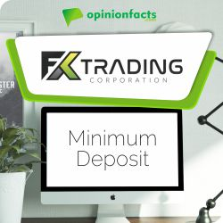 FX Trading - Minimum Deposit