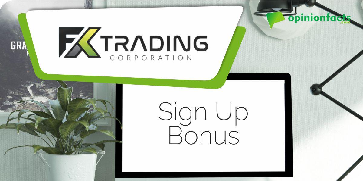 FX Trading - Sign Up Bonus