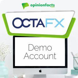 OctaFX - Demo Accounts